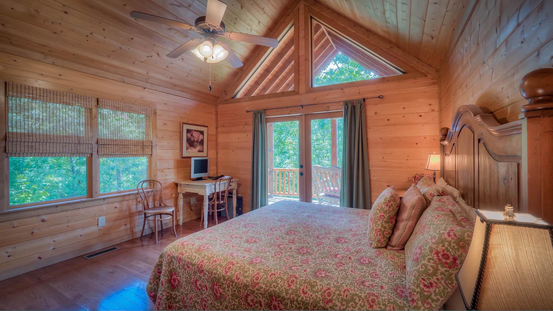 A Dancing Bear Rental Cabin Blue Ridge Ga