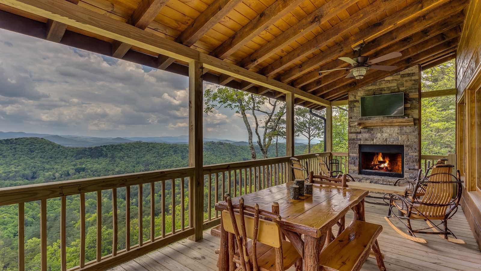 All About The View Rental Cabin Blue Ridge Ga