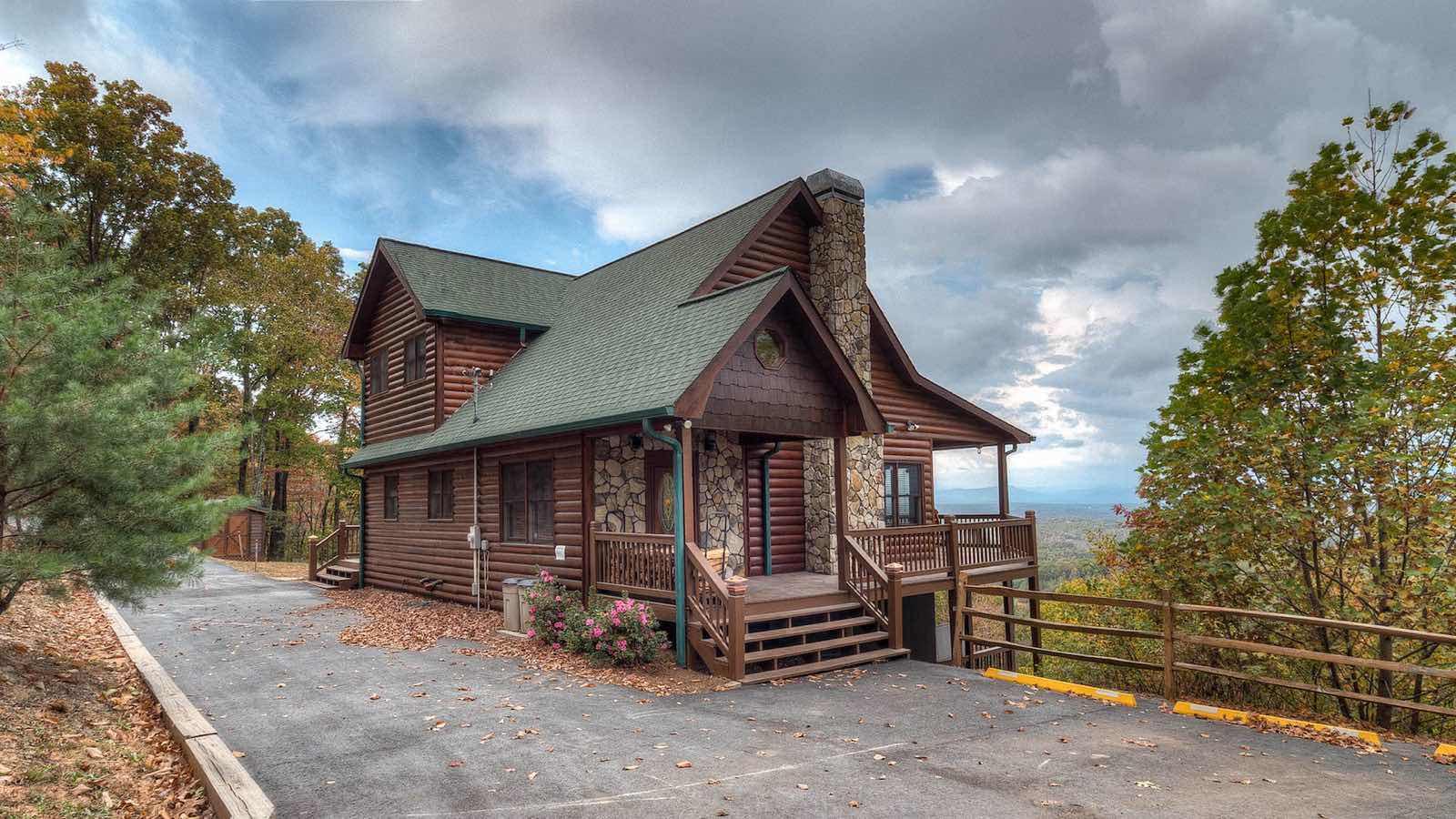 Amazing View Rental Cabin Blue Ridge Ga