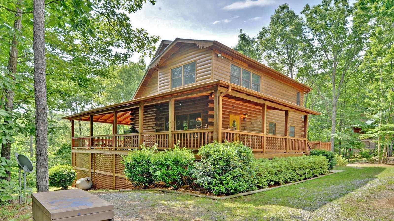 My blue ridge travel guide for Rental cabins in ga