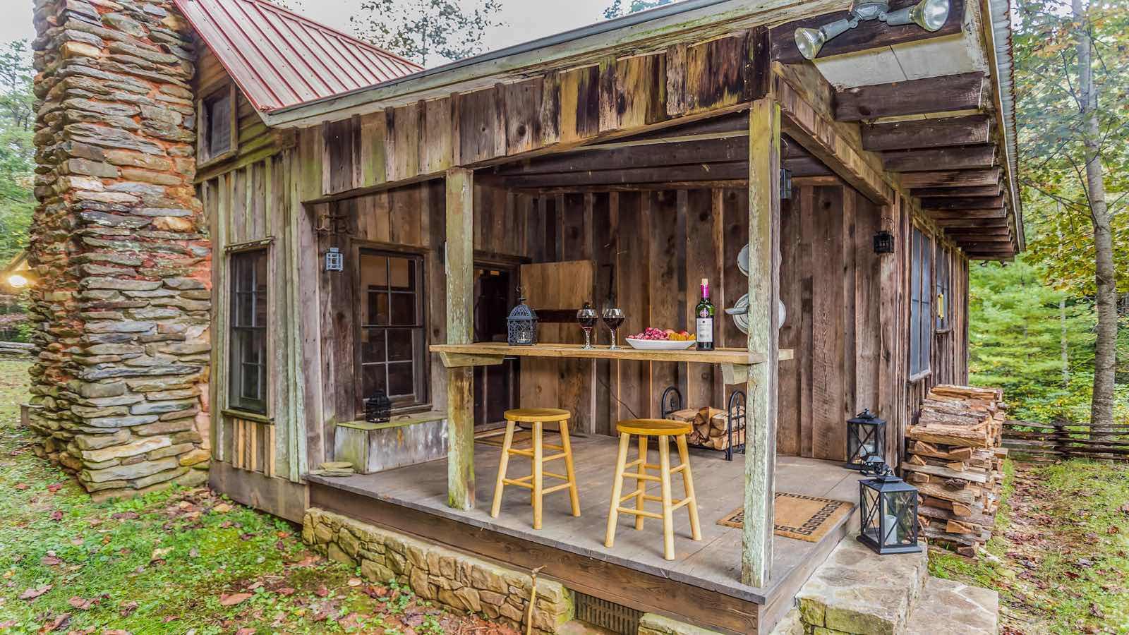 Back Porch Cabin : My blue ridge travel guide