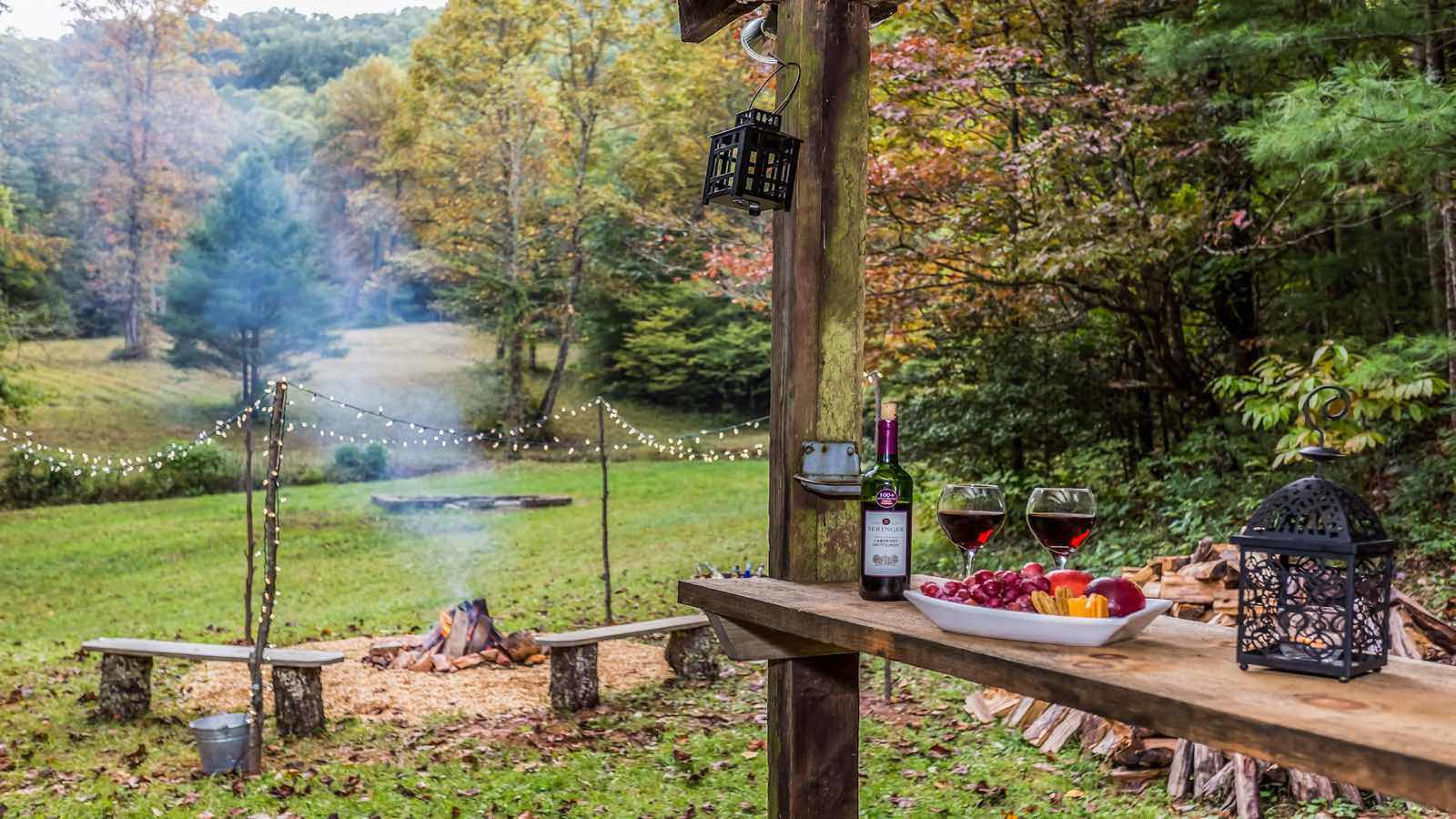 Secluded Amp Private Retreat On Nature Preserve Cabin Rentals