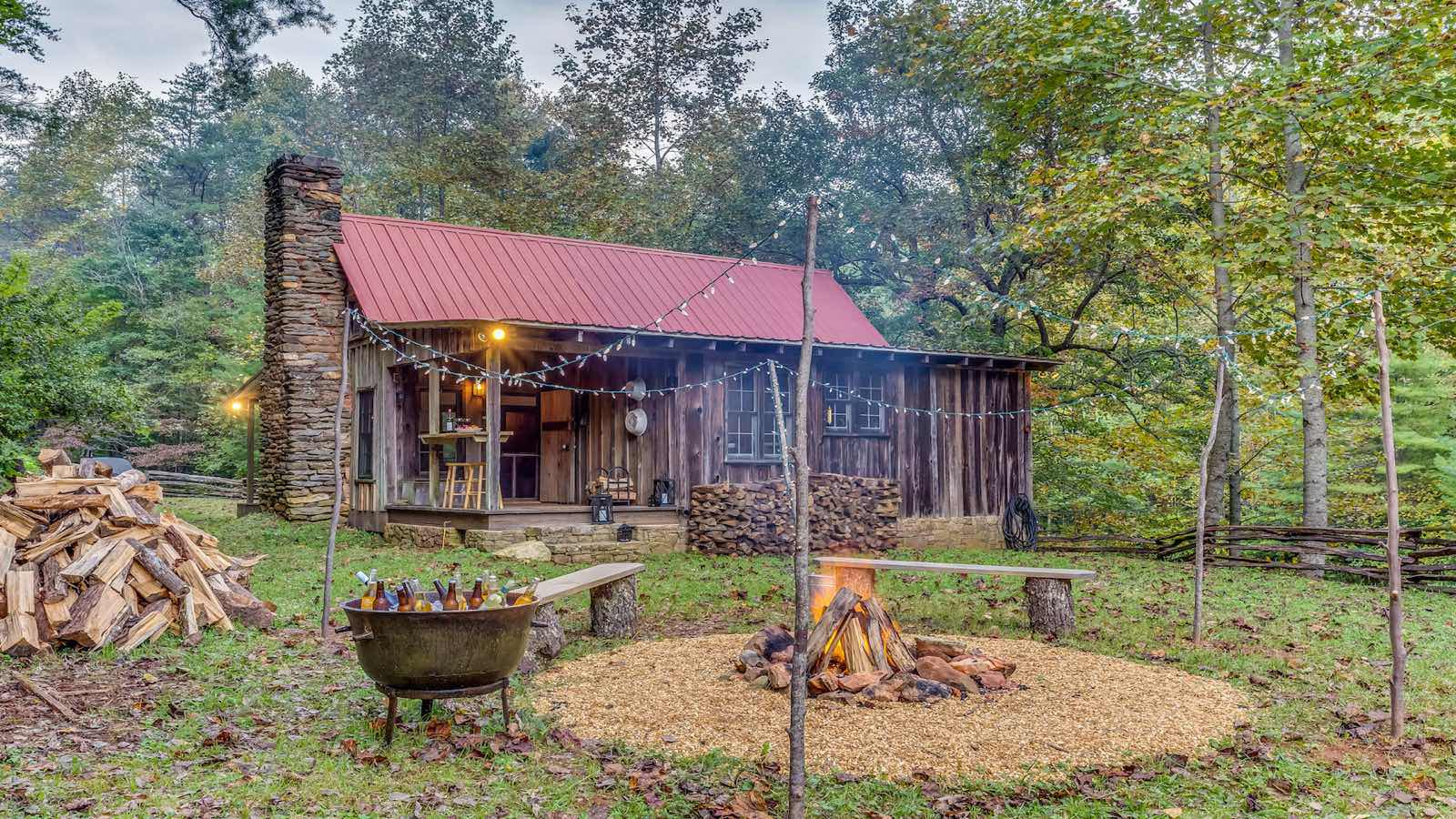 secluded private retreat on nature preserve cabin rentals