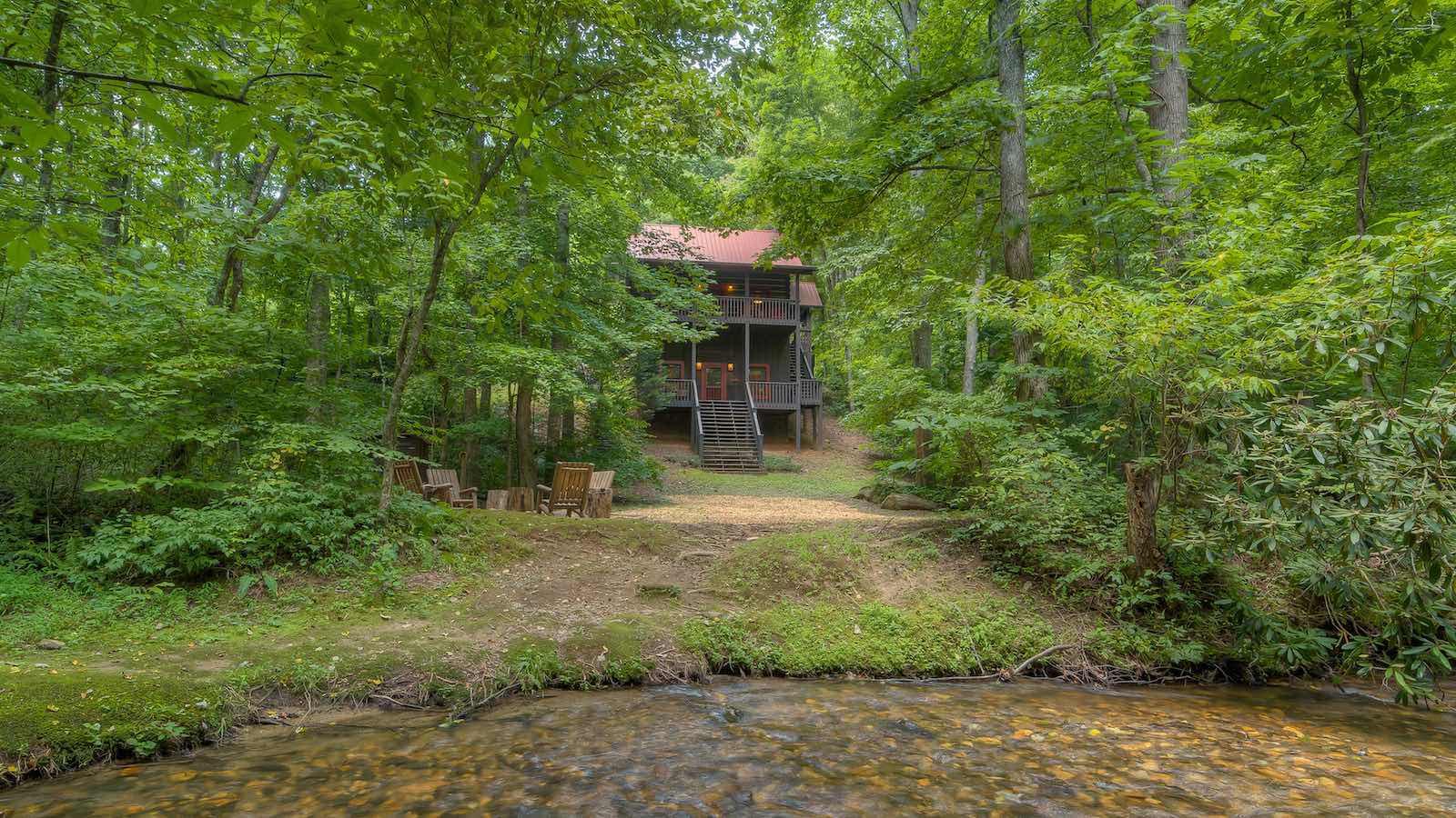 Bear Creek Hideaway Cabin Rental