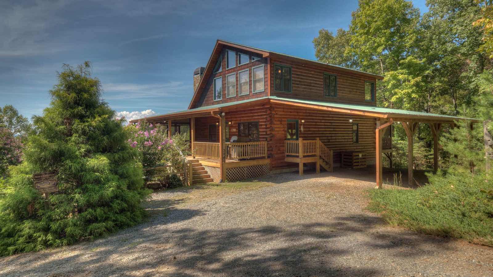 Blue ridge north georgia cabin rentals for North georgia cabin