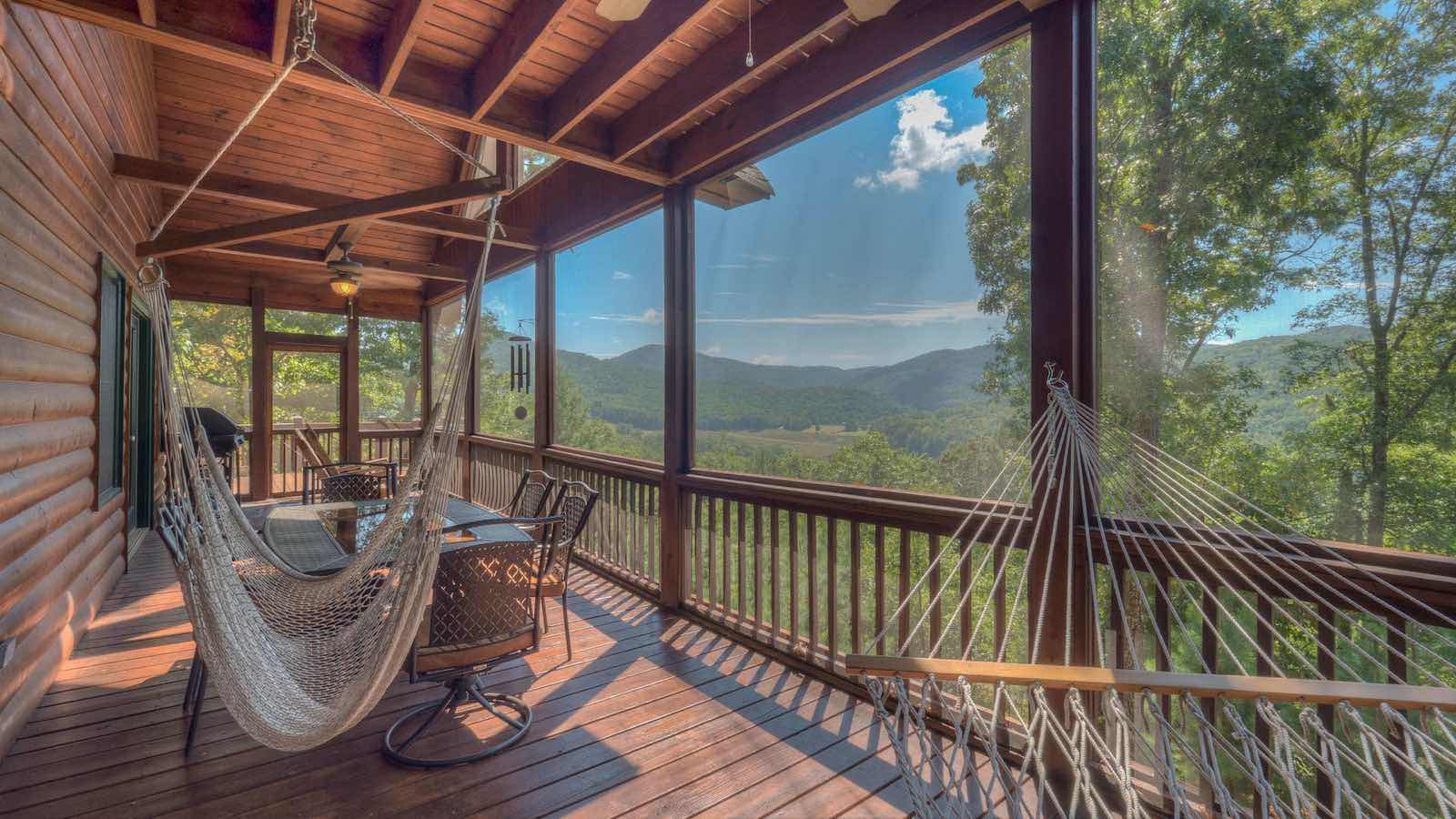 Big Sky View Rental Cabin - Blue Ridge, GA