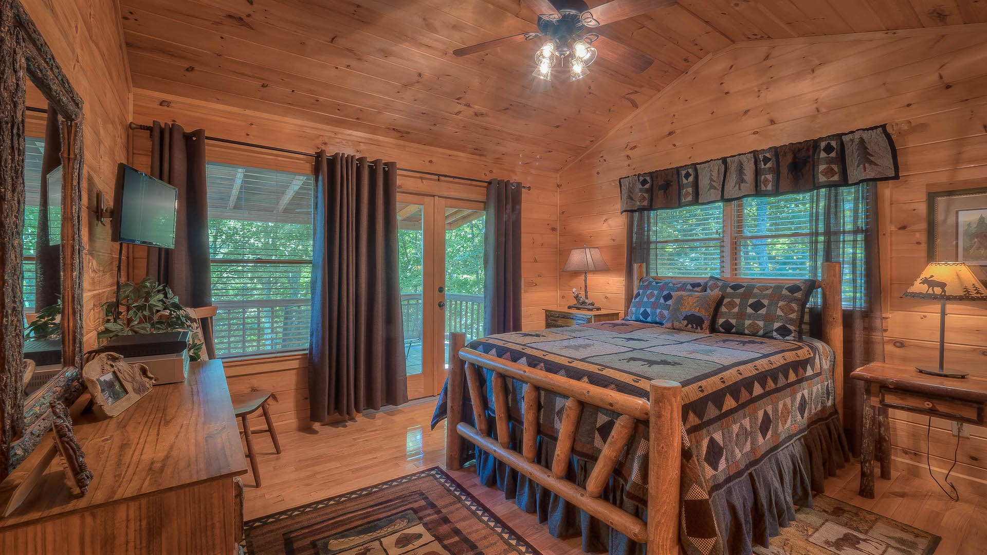 Blue ridge treasure rental cabin blue ridge ga for 8 bedroom cabins in blue ridge ga