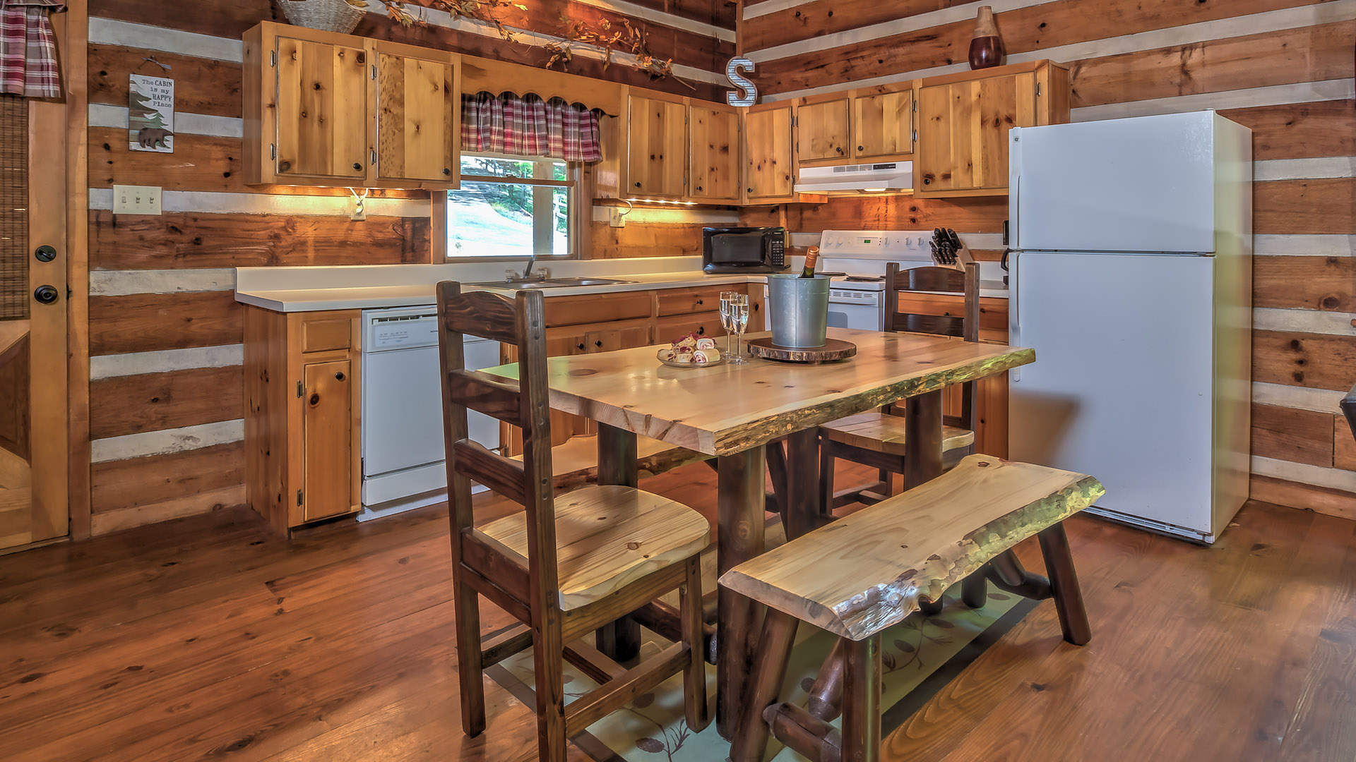 Charmant Mountain Top Cabin Rentals