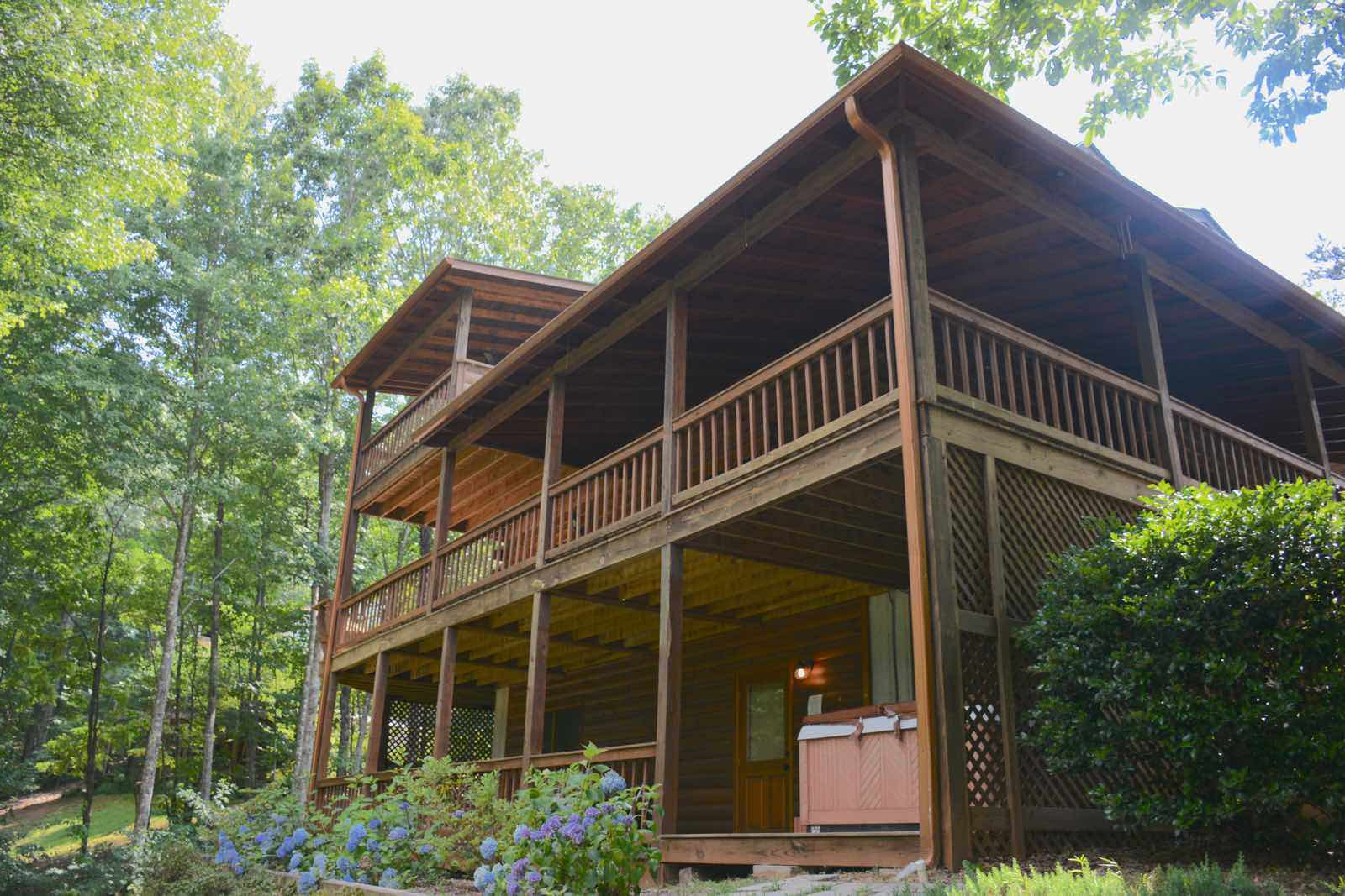 Blue ridge treasure rental cabin blue ridge ga for Rental cabins in ga