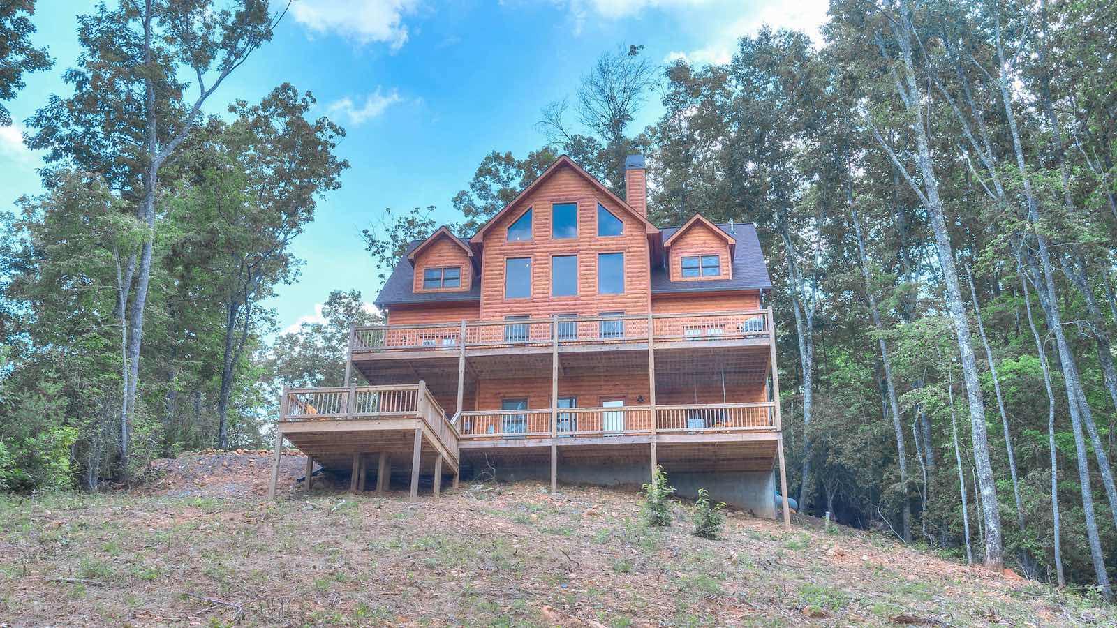 Echo lodge rental cabin blue ridge ga for Rental cabins in ga