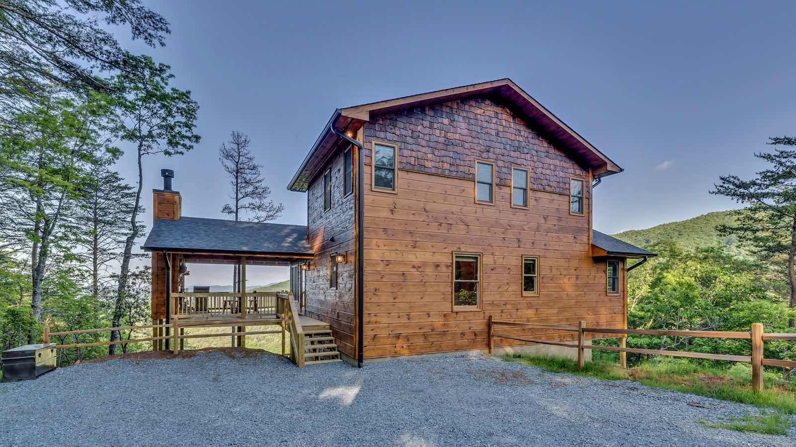 Endless view lodge rental cabin blue ridge ga for Blue ridge ga cabins for rent