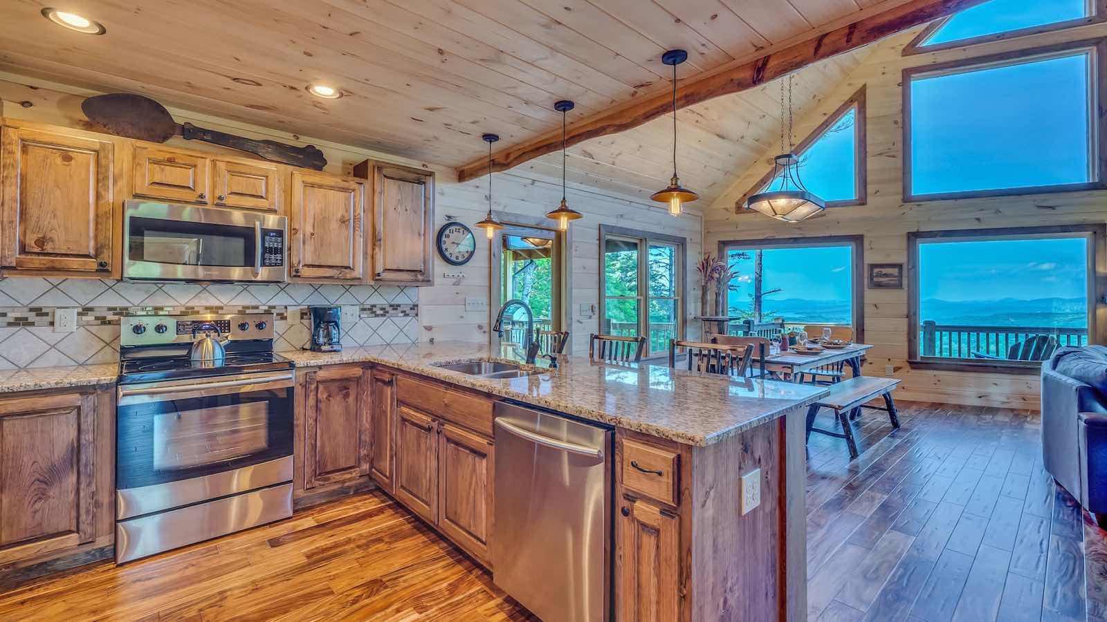 Endless View Lodge Rental Cabin - Blue Ridge, GA