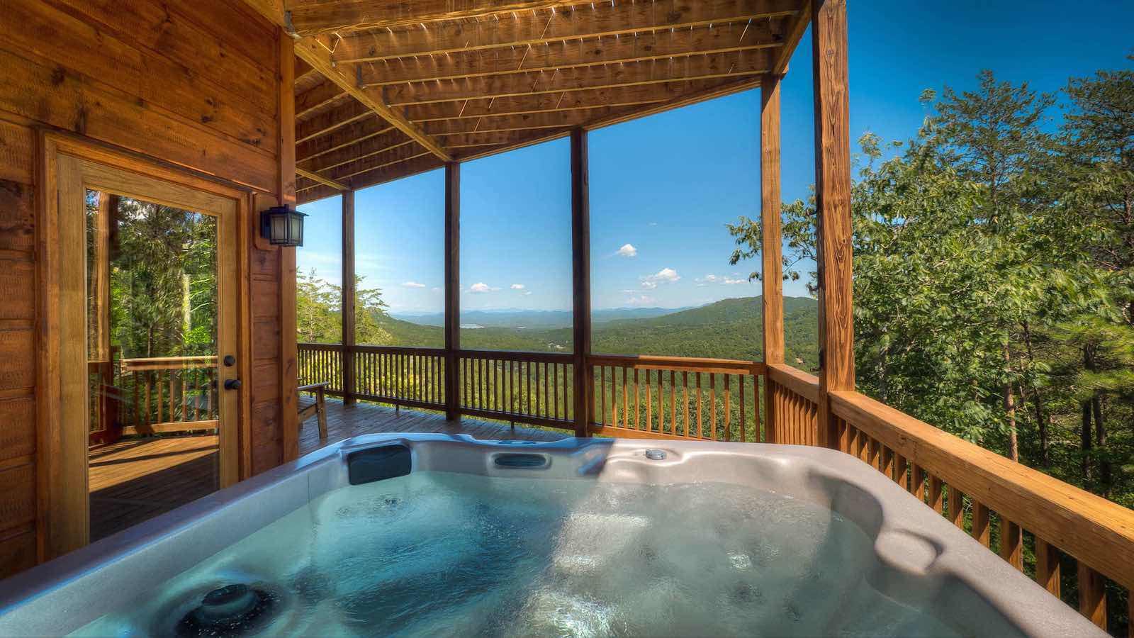 Endless View Lodge Rental Cabin Blue Ridge Ga