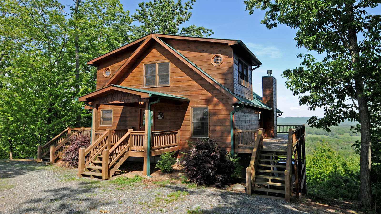 At sunrise ridge rental cabin blue ridge ga for Blue ridge ga cabins for rent