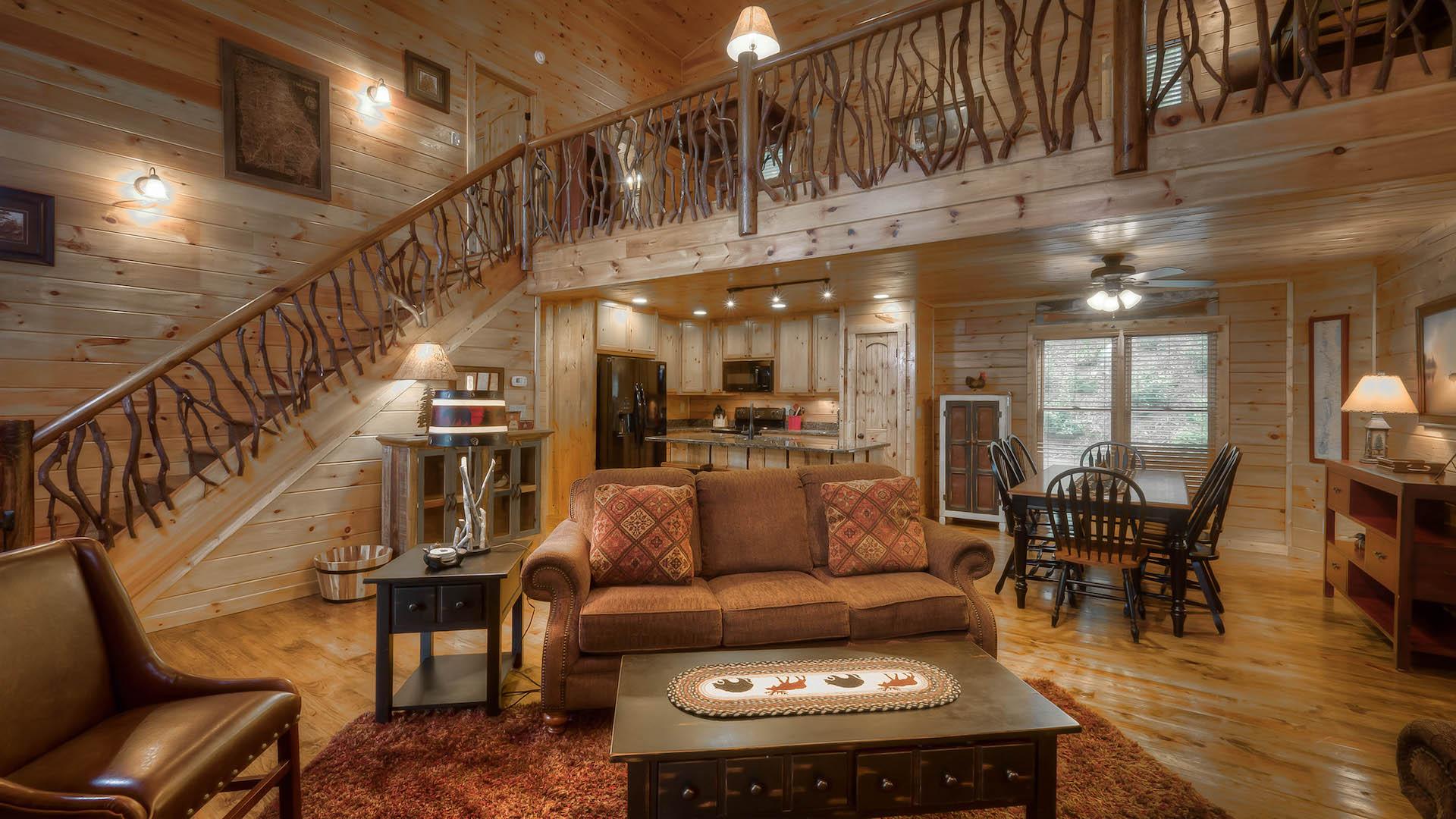 1 Bedroom Cabin Rentals In Georgia Download Cabin 1
