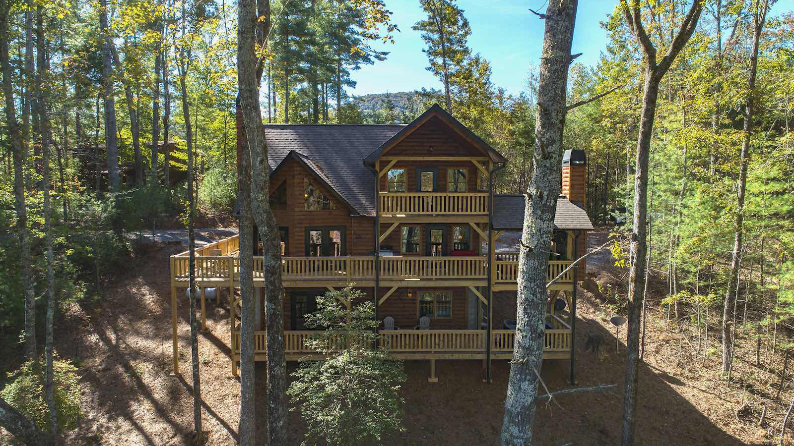 with cabins vacation cabin abound by lake georgia luxury waterfront trends house in comfy that the for rentals home