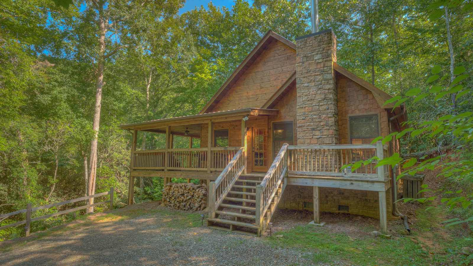 pin serenity in cabin ga rental ridge cabins weekend mountain georgia blue rentals top