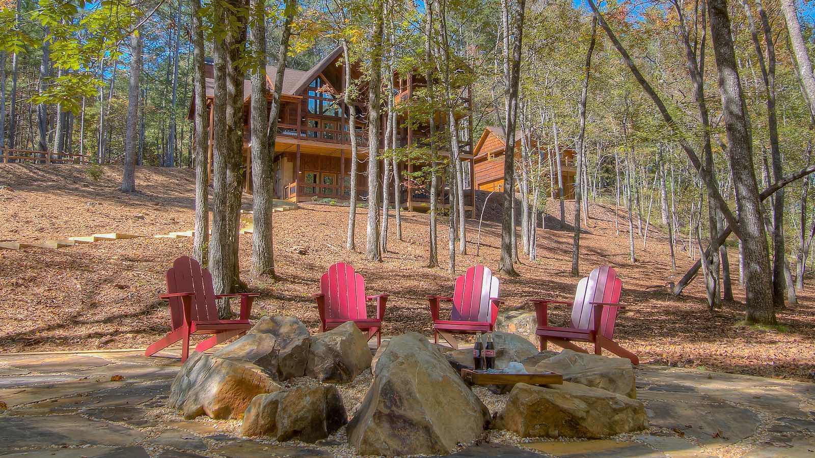 Living Waters  Cabin Rental