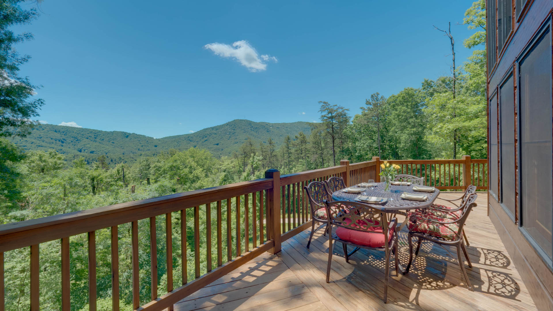 red rental blue slider apple mountain georgia top for cabins rent cabin ridge