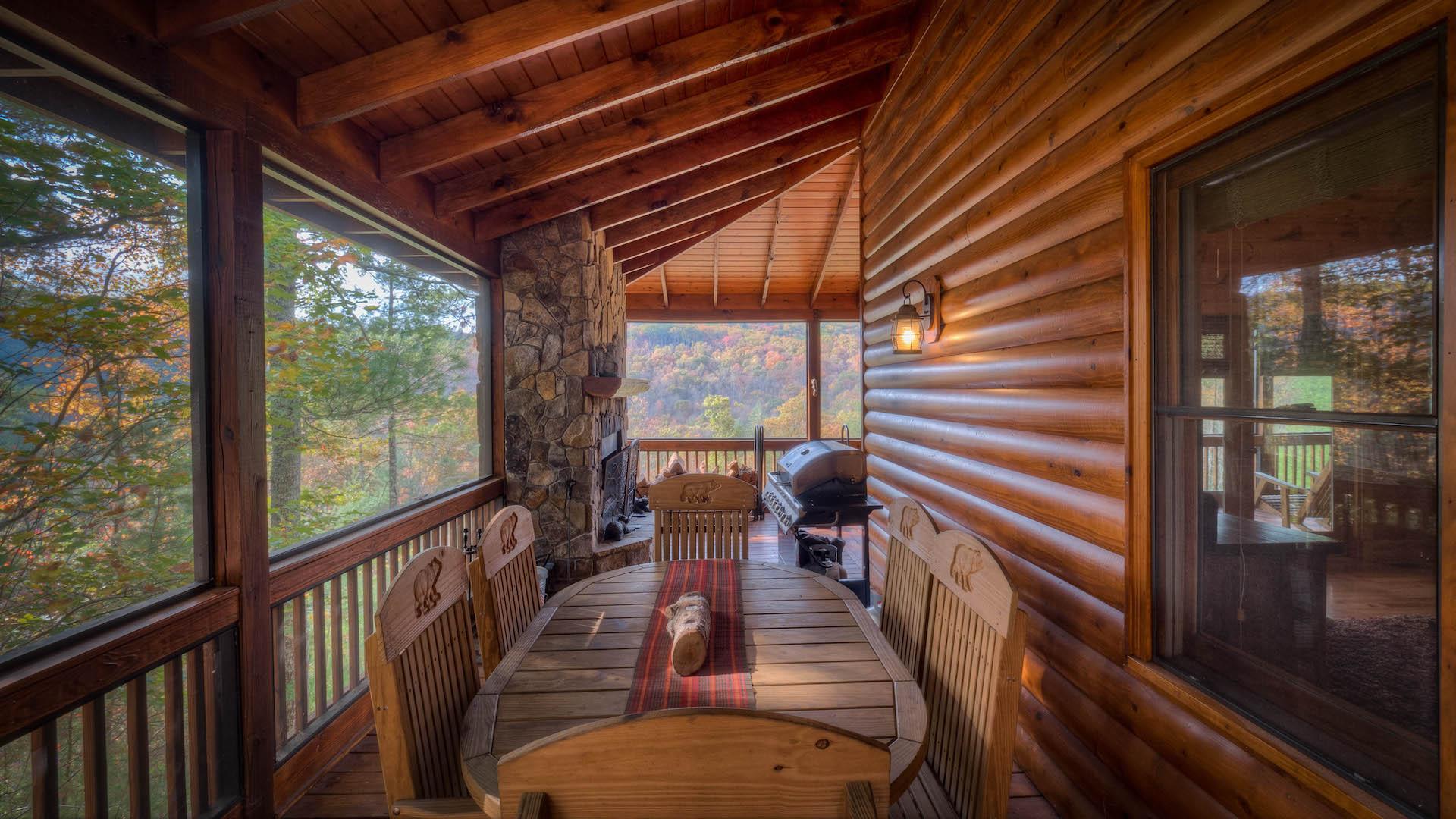 Mountain View Lodge Rental Cabin Blue Ridge Ga
