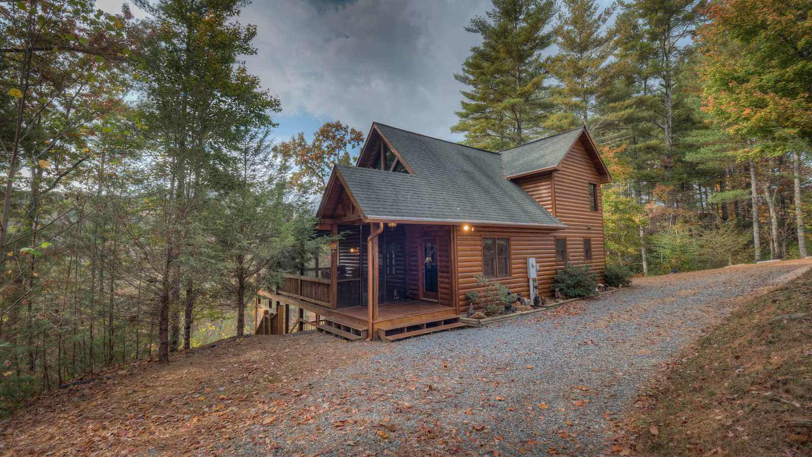 cabins ga estate sold rosser road real harry listing mountain stone