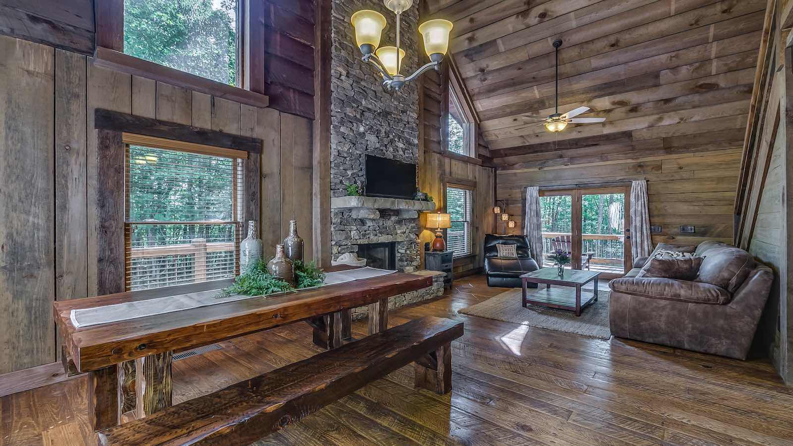 Refined Rustic Cabin Rental