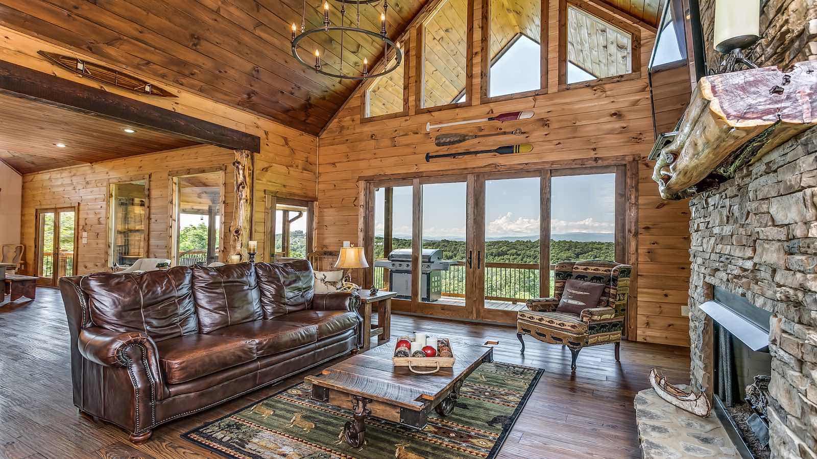 Shooting Star Lodge Rental Cabin Blue Ridge Ga