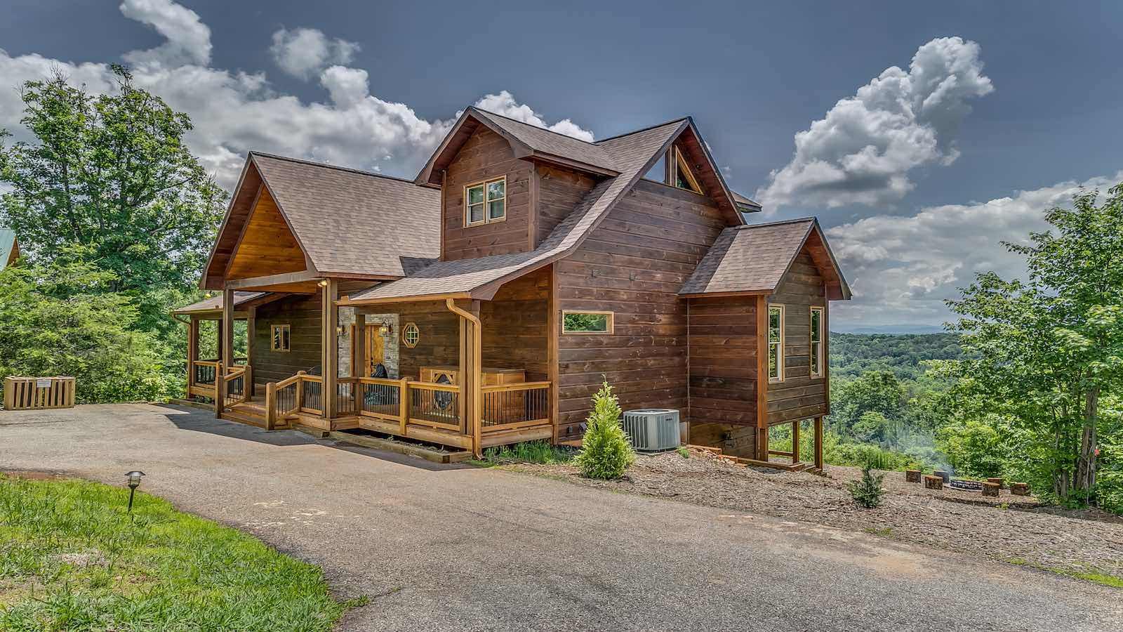 blue pro ridge cabins ga rental sunrise mountain at detailcabin stone cabin