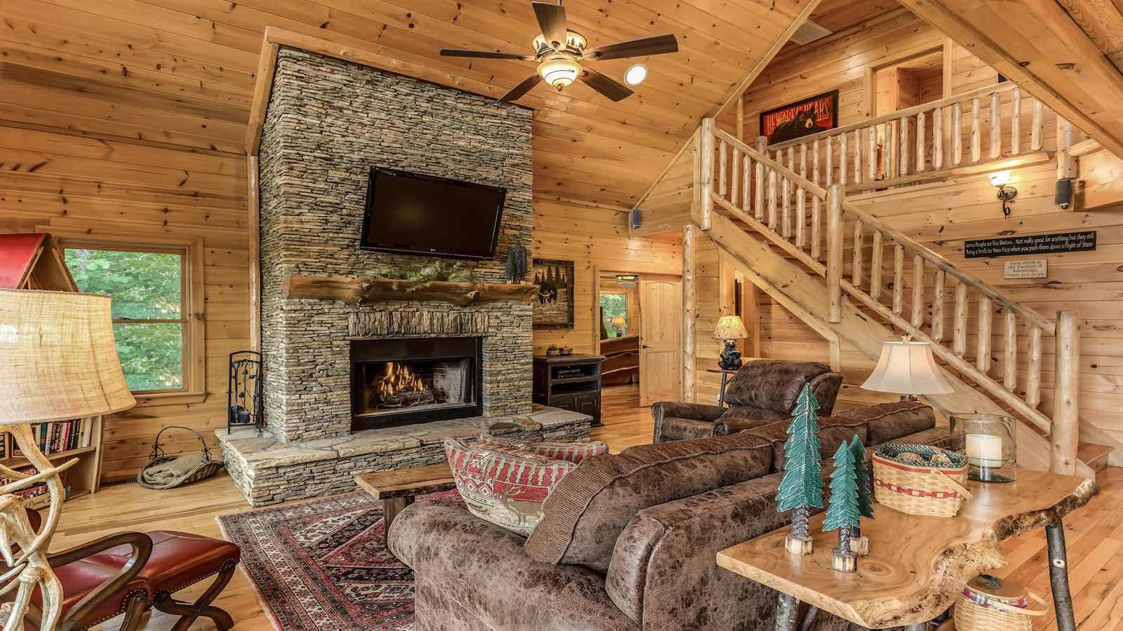 southern komfort rental cabin blue ridge  ga