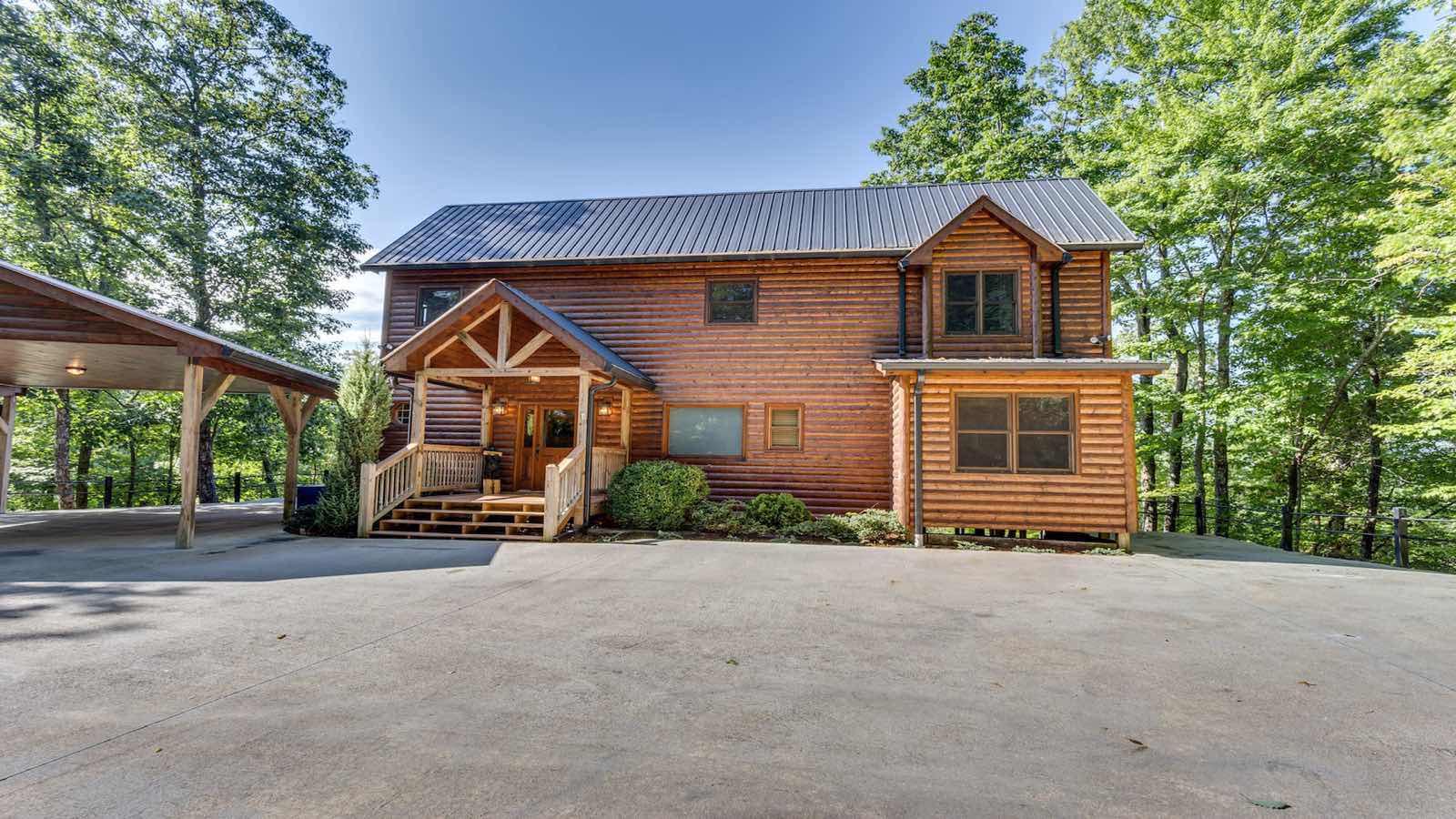 Southern komfort rental cabin blue ridge ga for Blue ridge ga cabins for rent