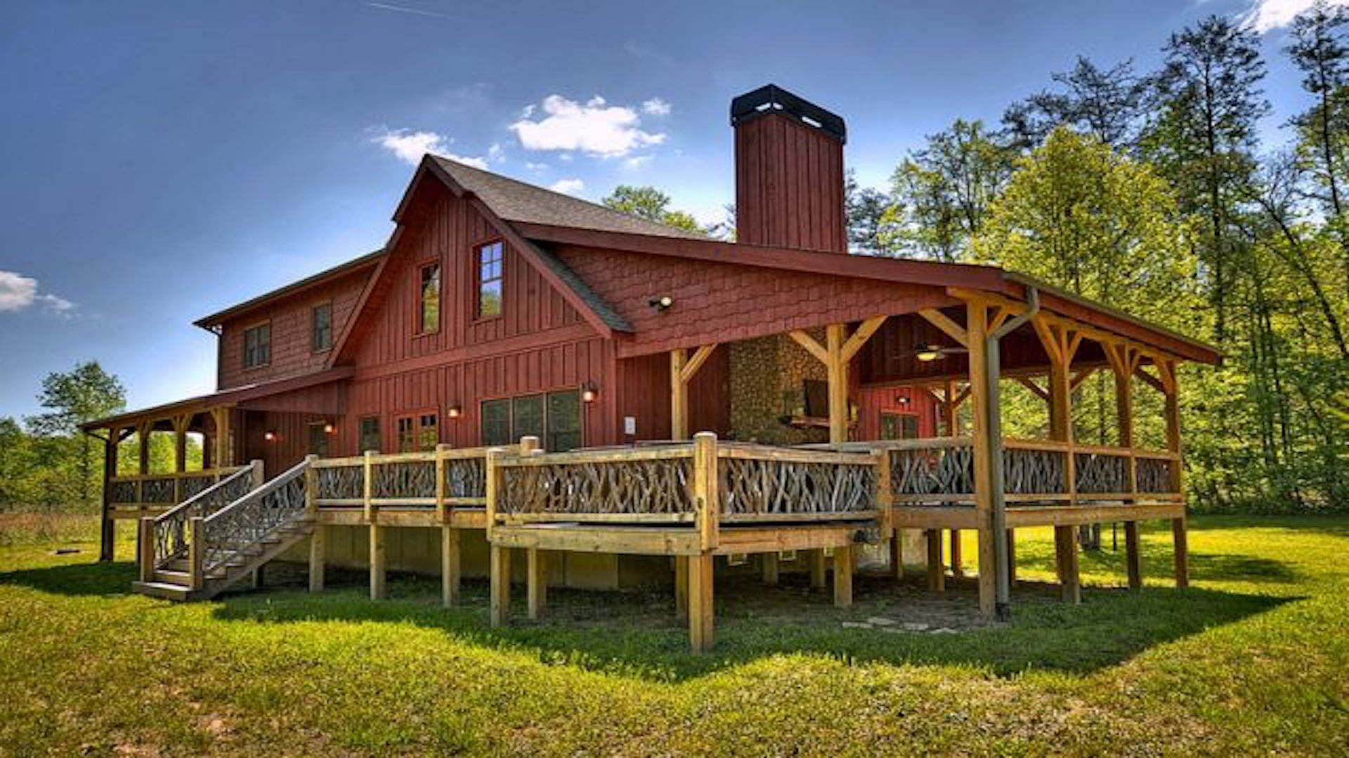 sale ontario luxury mountain ga mountains waterfront s georgia cottages river bay ridge cabins north rentals georgian in cabin for blue
