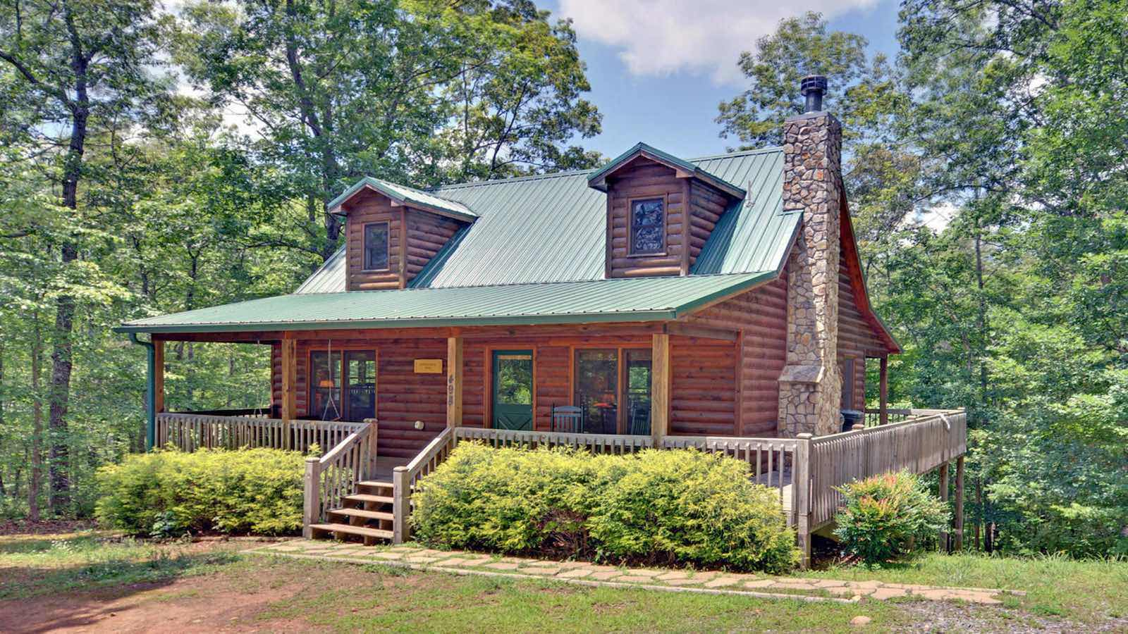 Secluded cabin rentals in georgia mountains for Rent a cabin in georgia mountains