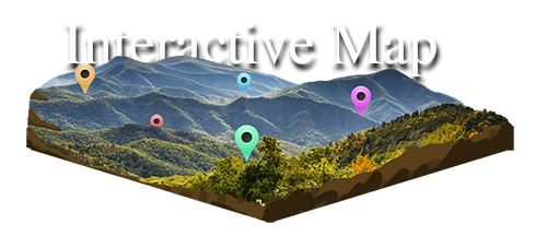 Interactive Map Of Georgia.Blue Ridge North Georgia Cabin Rentals