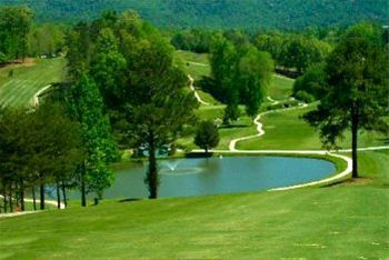 Golfing in the Blue Ridge Mountains