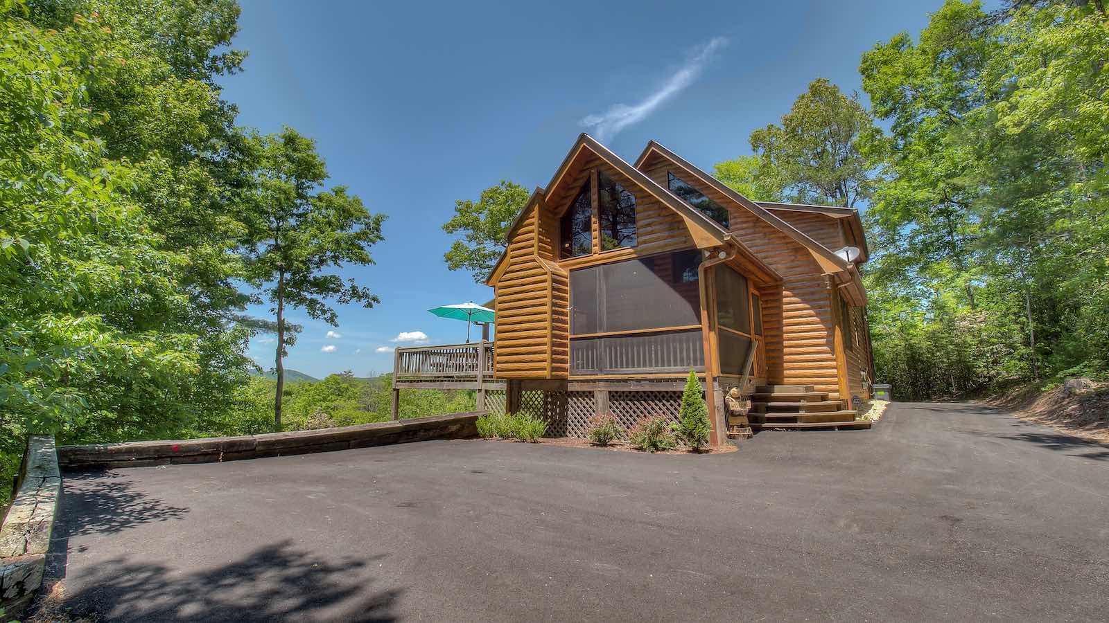 Cherokee Sunset Rental Cabin Blue Ridge Ga