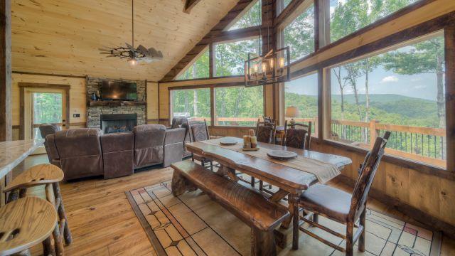 Above The Clouds Rental Cabin Blue Ridge Ga