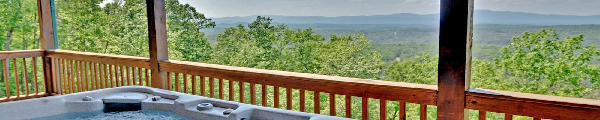 Rental Cabins with hot tubs